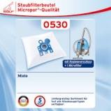 5 Staubsaugerbeutel Variant MI01 geeignet für Miele S 424i