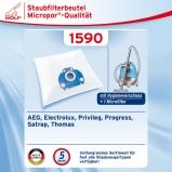 30 Staubsaugerbeutel Economy geeignet für AEG Electrolux AJM 6800-6899 Jet Max