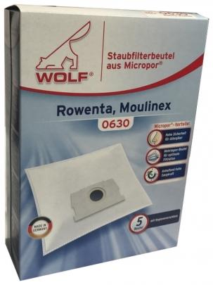 Wolf 0630 Staubsaugerbeutel Micropor