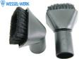 Wessel-Werk SP050 Saugpinsel mit drehbarem Bürstkopf, 32mm