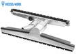Wessel-Werk IRD500 Saugbürste ALU , 50mm