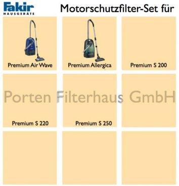 Fakir Motorschutzfilter-Set Bestell-Nr. 2006086