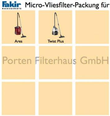 Fakir Micro-Vliesfilter-Packung Bestell-Nr. 2410805