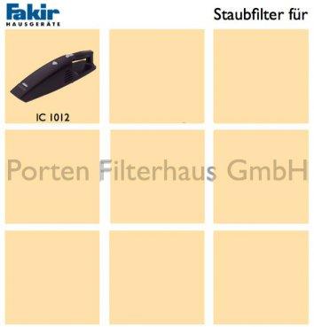 Fakir Staubfilter Bestell-Nr. 3027161