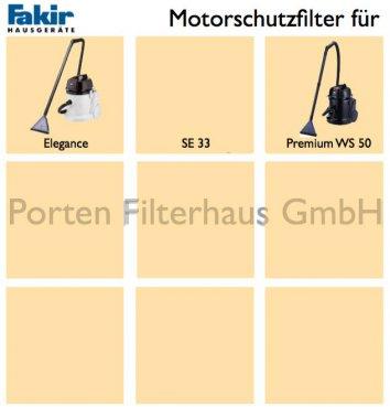 Fakir Motorschutzfilter Bestell-Nr. 2208036