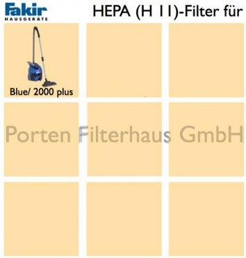 Fakir HEPA-Filter (H11) Bestell-Nr. 2722860