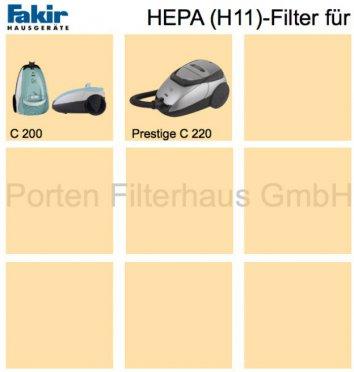 Fakir HEPA-Filter (H11) Bestell-Nr. 2429090