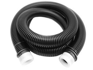 Variant KS425 Staubsaugerschlauch Elflex 2x Klickset, 32mm, 2,5m, schwarz