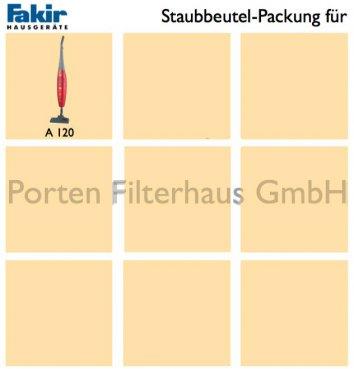 Fakir Staubsaugerbeutel-Packung Bestell-Nr. 3073805