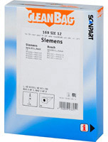 Cleanbag 169 SIE 12  - 5 Staubsaugerbeutel