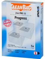 CleanBag 244 PRO 11 - 4 Staubsaugerbeutel