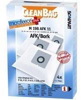 Cleanbag 198 AFK 11 - 4 Staubsaugerbeutel