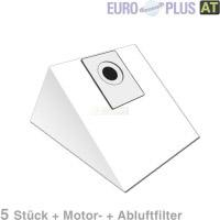 Europlus X 102 - 5 Staubsaugerbeutel