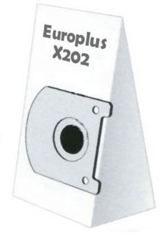 Europlus X 202 - 5 Staubsaugerbeutel