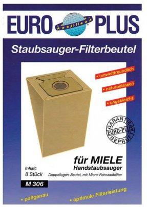 Europlus  M306 - 8 Staubsaugerbeutel