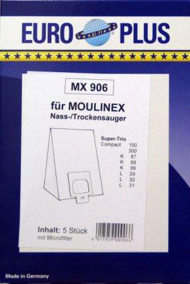 Europlus MX 906 - 5 Staubsaugerbeutel