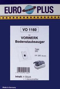 Europlus VO 1160 - 4 Staubsaugerbeutel