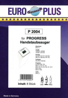 Europlus P 2004 - 5 Staubsaugerbeutel