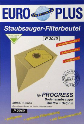 Europlus  P2040 - 4 Staubsaugerbeutel