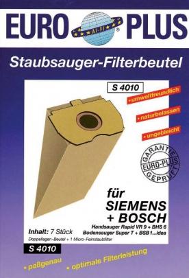 Europlus S 4010 - 5 Staubsaugerbeutel