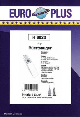 Europlus H 6023 - 4 Staubsaugerbeutel