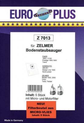 Europlus Z 7013 - 5 Staubsaugerbeutel