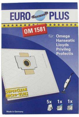 Europlus OM 1581 - 5 Staubsaugerbeutel