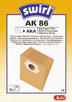 Swirl AK 86  Staubsaugerbeutel