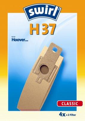Swirl H 37 - 4 Staubsaugerbeutel