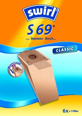 Swirl S 69 Staubsaugerbeutel