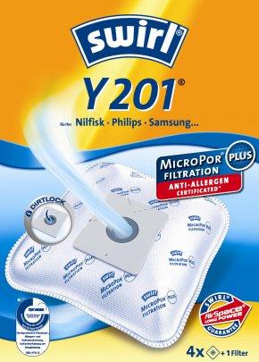 Swirl Y 201 Micropor Staubsaugerbeutel