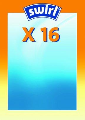 Swirl X 16 Micropor Staubsaugerbeutel