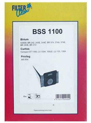 Filterclean BSS 110 Staubsaugerbeutel