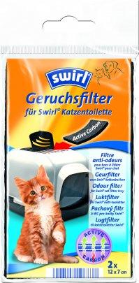 Swirl Geruchsfilter mit Aktivkohle für Katzentoiletten