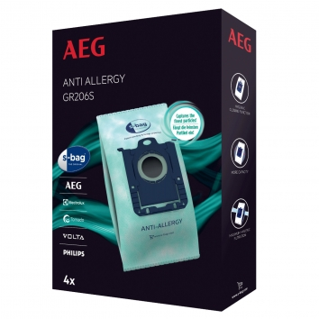 AEG/Electrolux Staubsaugerbeutel s-bag® anti allergie Gr. 206