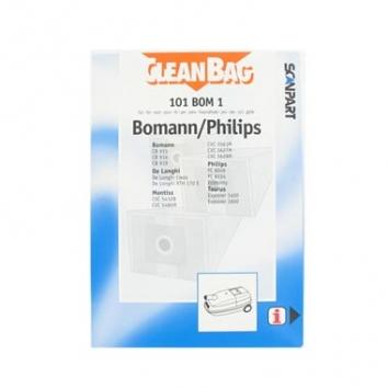CleanBag 101 BOM 1 - 5 Staubsaugerbeutel