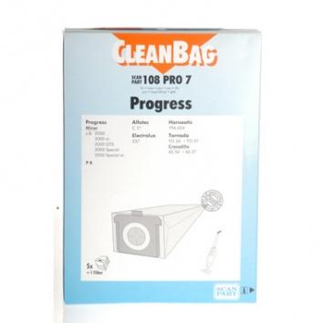 Cleanbag 108 PRO 7 - 5 Staubsaugerbeutel