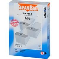 Cleanbag 116 AEG 6 - 5 Staubsaugerbeutel