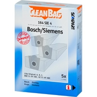 CleanBag 164 SIE 4 - 5 Staubsaugerbeutel