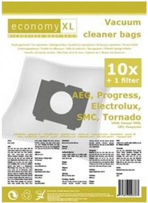 Economy XL - 10 Staubsaugerbeutel geeignet für AEG 28