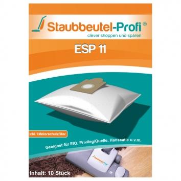 Staubbeutel-Profi ESP11 10 Staubsaugerbeutel Made in Germany
