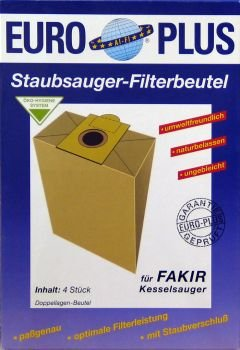 Europlus F704 - 4 Staubsaugerbeutel