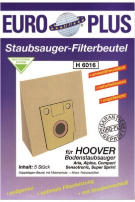 Europlus H 6016 - 5 Staubsaugerbeutel