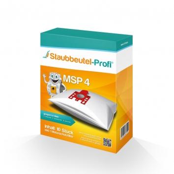 Staubbeutel-Profi MSP4 10 Staubsaugerbeutel Made in Germany