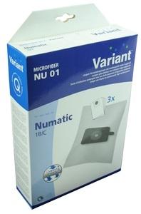 Variant NU01 Microvlies Staubsaugerbeutel + Microfilter