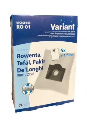 Variant RO01 Microvlies Staubsaugerbeutel + Microfilter