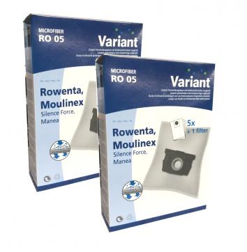 Variant RO05 Microvlies 10 Staubsaugerbeutel + 2 Microfilter