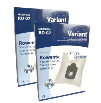 Variant RO07 Microvlies 10 Staubsaugerbeutel + Microfilter