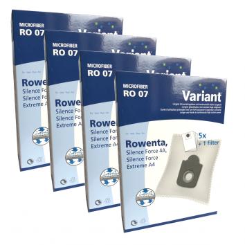 Variant RO07 Microvlies 20 Staubsaugerbeutel + Microfilter