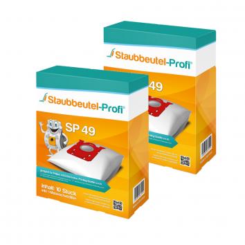 Staubbeutel-Profi SP49 20 Staubsaugerbeutel Made in Germany